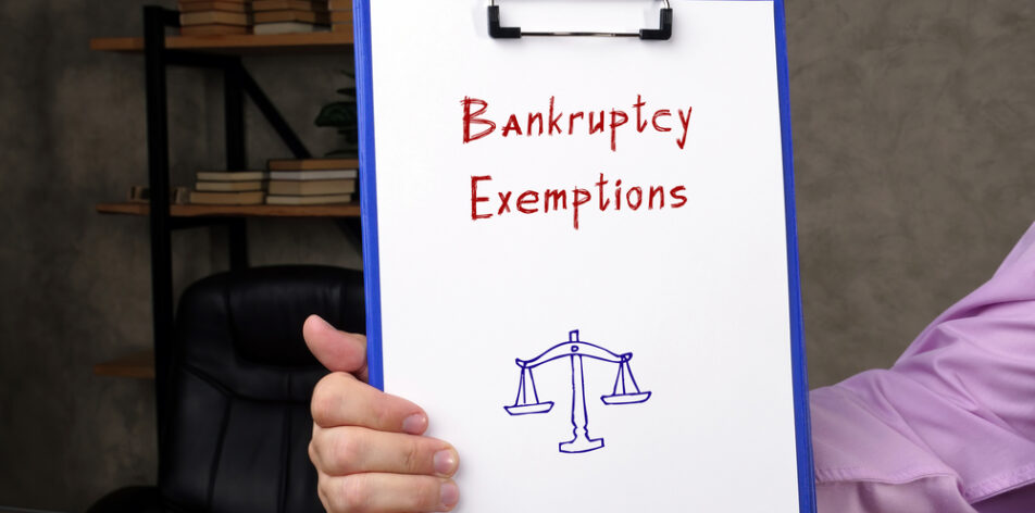 bankruptcy exemption
